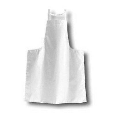 £3.99 • Buy LARGE BLACK Or WHITE COTTON FULL APRON CHEF PINNY MATCHING STRAPS