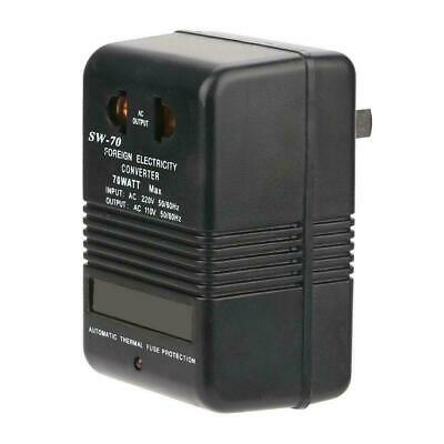 SW-70 220V To 110V Step Down Voltage Converter Power Transformer 70W CN Plug • 7.54£