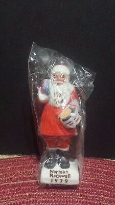 $ CDN31.06 • Buy Norman Rockwell Dave Grossman 1979 NRX24 DRUM FOR TOMMY ORNAMENT Santa