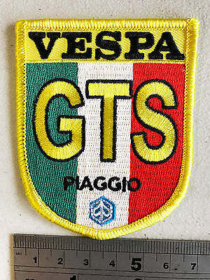 £3.75 • Buy Vespa GTS Ital Patch - Embroidered - Iron Or Sew On