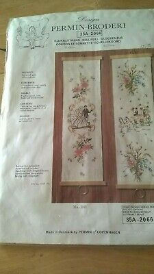 Permin Counted Cross Stitch Kit -wedding Bell Pull - 35a 2066 • 6.75£