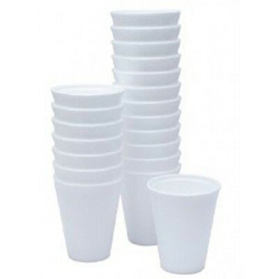 200 Polystyrene 10oz 28cl 10 Oz (approx ) Insulated Foam Tea Coffee Dart Cups • 16.95£