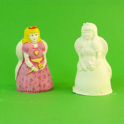 Plaster Of Paris/Candle Latex Rubber Mould  Fairy Princess ( 8.5cm High)   Craft • 1.99£
