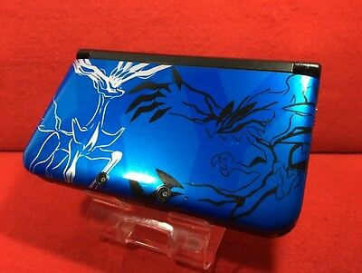 $170 • Buy USED Nintendo 3DS LL XL Pokemon X Pack Limited Xerneas Yveltal Blue Game Console