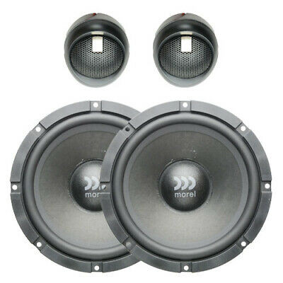 AU345.85 • Buy Morel Maximus 602 6.5  Two-way Car Speakers With AUST MOREL WARRANTY