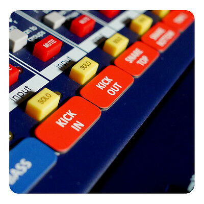 $18 • Buy Magnetic Labels For Mackie ProFX Mixers (ProFX12, ProFX16, ProFX22, ProFX30)