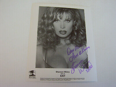$ CDN13.16 • Buy Shannon Whirry 8x10 Authentic Autographed Photo   Enormous Soft Cleavage