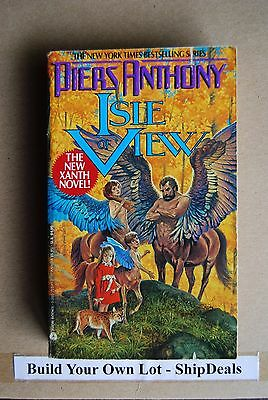 Piers Anthony Paperback Xanth Series Isle Of View **ShipDeals** Build-A-Lot  • 2.49$