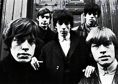 £6.37 • Buy Rolling Stones Wall Art Print Photo Print Poster Picture Mick Jagger Mick Taylor