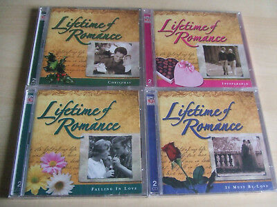 4 New Sealed Time Life Lifetime Of Romance Double CD Albums                   #1 • 31.50£