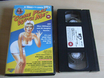 Come Play With Me (1977 Film) VHS Video Starring Mary Millington • 22£