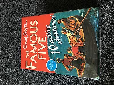 Famous Five Classic Collection 10 Book  Box Set  New & Sealed Enid Blyton  • 33.99£
