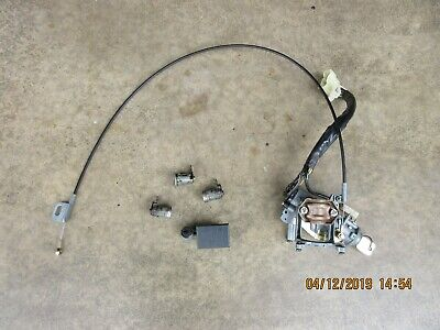 1995 geo tracker a/t ignition switch & lock cylinders  please read entirety  •