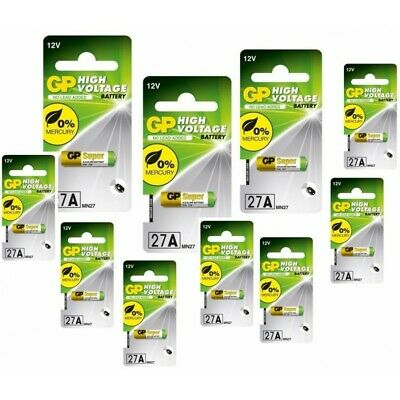 AU48.23 • Buy AU BL184-10x Battery GP 27A G27A MN27 GP27A A27 L828 GP27A 10x Blisters