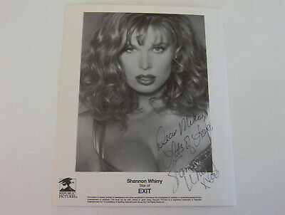 $ CDN13.16 • Buy Shannon Whirry 8x10 Authentic Autographed Photo   Beautiful Photo With Cleavage