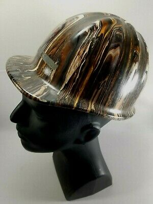 VINTAGE Aluminum MCDONALD T MSA Safety Helmet Hard Hat Hydro Dipped Custom 60s • 29.99$
