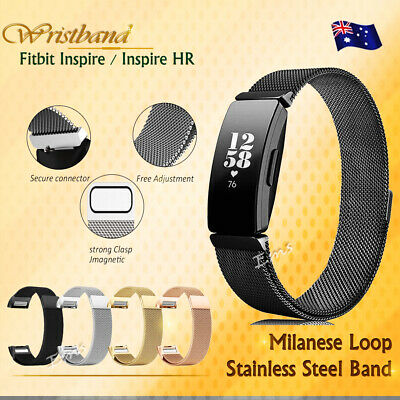 AU12.99 • Buy Replacement Mesh Watch Band Milanese Magnetic For Fitbit Inspire HR /Inspire