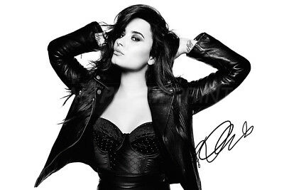 Demi Lovato Pre Signed Photo Print Poster - Sorry Not Sorry - Glee - Unbroken • 7.99£