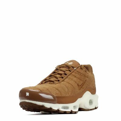 Nike Air Max Plus Quilted Men's Running Training Shoes Ale Brown Sail 806262 200 • 99.95$