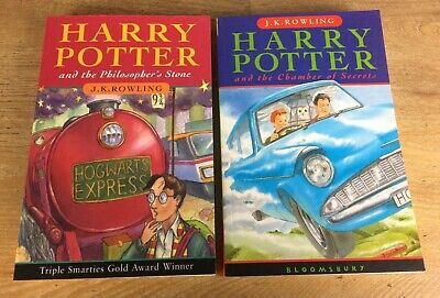 $ CDN34.01 • Buy Harry Potter & The Philosopher's Stone & Chamber Of Secrets Books Paperbacks