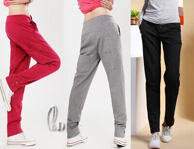 AU17.99 • Buy Au Stock 100% Cotton Casual Sports Trousers Yoga Gym Running Basic Pants P007