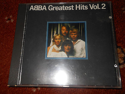 CD Abba Greatest Hits Vol 2 Rare POLAR 312 West Germany No Barcode • 34.99£