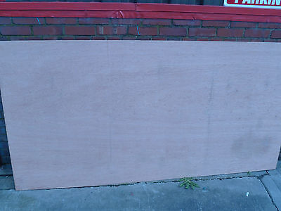 WBP Hardwood Faced Plywood 8ft X 4ft Sheets • 12.90£