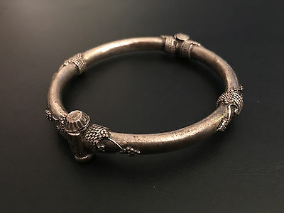 £202.81 • Buy Old Indian Sterling Silver Bangle Extremely Rare!!! Collectible!!!