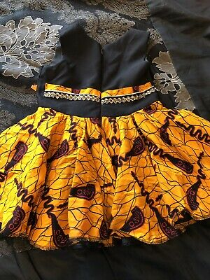 African Print Dress Kids Size 1-3 Years • 10£