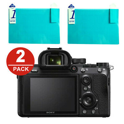 $ CDN8.92 • Buy Sony Camera LCD Screen 02X Protector A7II,III,A7S,A7R,A99,A6300,A6000,A5,A6500..