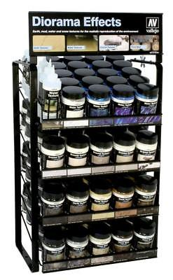 Vallejo Diorama Effects Water, Ground, Earth Texture, Thick Mud, 200ml Bottles • 12.99£