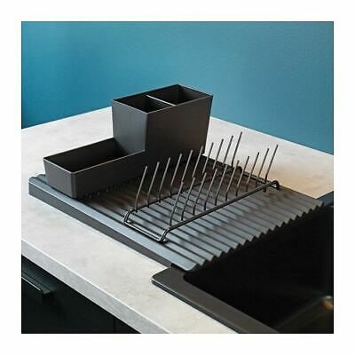 AU34.99 • Buy NEW IKEA Plastic Dish Rack Drainer Sink Cutlery Drying Holder Dryer Tray Kitchen