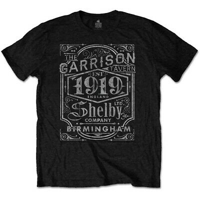 Official Peaky Blinders  The Garrison Tavern  T-shirt Black • 11.95£