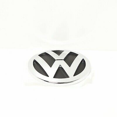 New Genuine VW Touareg 03-07 Rear Trunk Logo Badge Emblem 7L6853630AULM OEM • 46£