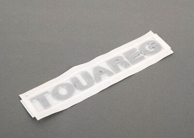 New Genuine VW Touareg 2003-2010 Trunk Boot Lid Badge Emblem Chrome 7L6853687739 • 64£