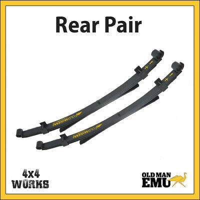 Old Man Emu For Jeep Wrangler YJ Leaf Springs REAR PAIR Soft Top • 219£