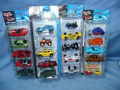 $ CDN21.78 • Buy 4 Maisto Fresh Metal 5 Car Pack 1:64 Lot 3