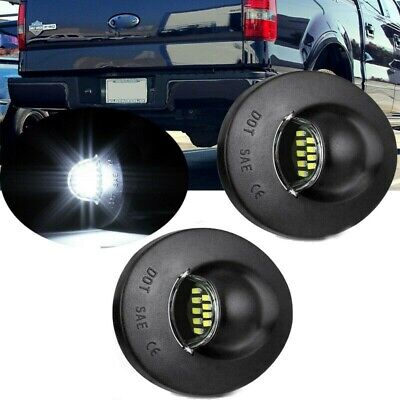 $10.96 • Buy 2pcs License Plate Light LED SMD For Ford Pickup Truck F-150 F250 F350 1990-2014
