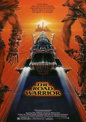 £6.37 • Buy Mad Max - The Road Warrior Movie Poster Film Photo Print  Picture Mel Gibson