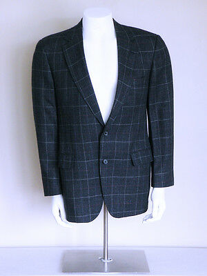 $ CDN534.51 • Buy Vtg 80s *50s* WINDOWPANE New Wave Cyberpunk Rockabilly Fleck WOOL Stage Jacket