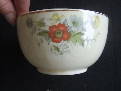 £6 • Buy Bovey Pottery . Sugar Bowl Floral