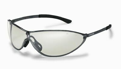 Safety Glasses Uvex 'MT Racer' Silver-Mirrored Lens - Metal Frames UV Protection • 7.99£