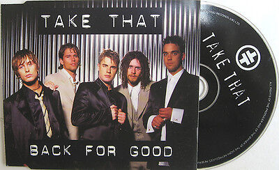 £4.99 • Buy TAKE THAT CD BACK FOR GOOD 3 Track Inc. LIVE ! Sure And BEATLES Medley ! UNPLAYE