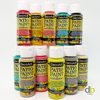 DecoArt Outdoor Garden Patio Paints 2oz 59ml • 2.50£