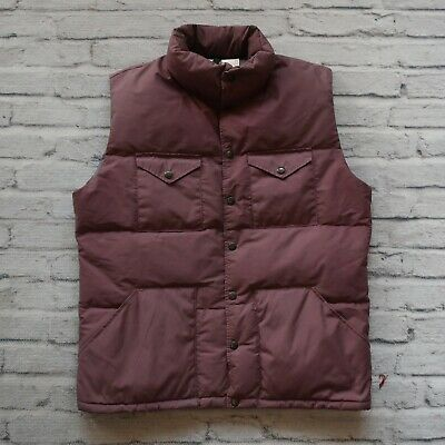 $89.99 • Buy Vintage 80s North Face Brown Label Quilted Down Vest Size L Made In USA