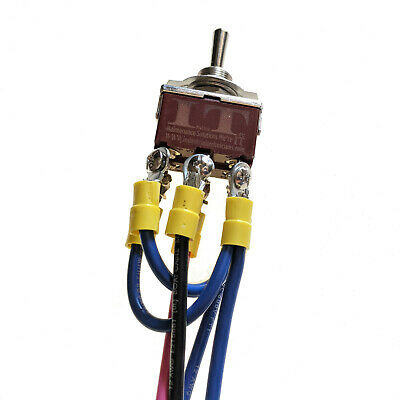 IndusTec Motor Polarity Reversing -Toggle Switch 3 Position Maintained 12V 24V  • 14.80$