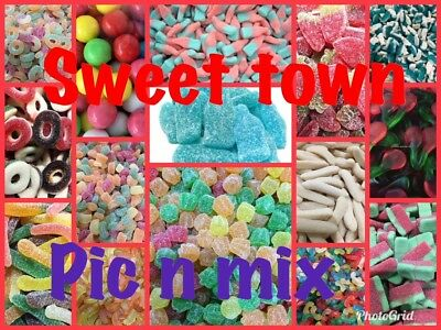 Sweets Jelly Pic N Mix Halal Candy 48 DIFFERENT TYPES 100grms 1KG HMC Certified • 3.89£