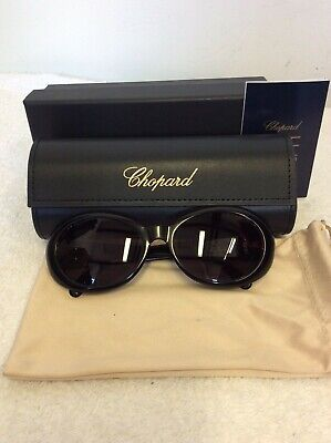 £200 • Buy Vintage Chopard Black Sunglasses With Case & Box