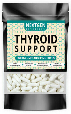£10.75 • Buy Thyroid Support Pills Strongest Natural Formula 60 Capsules