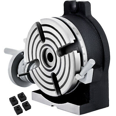AU215.95 • Buy Dividing Attachment Rotary Table 360 ° Horizontal Vertical 150mm/6  4-jaw Chuck
